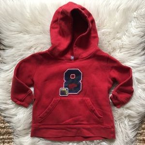 Carter's hooded sweatshirt toddler 2T long sleeve